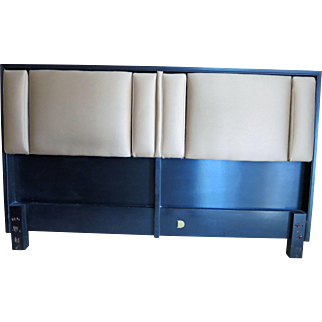 Rare Adjustable Headboard By Dunbar, Designed by Edward Wormley