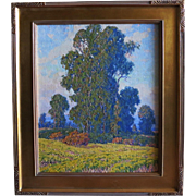 "Gary Ray titled ""Mustard Field""  California Artist"