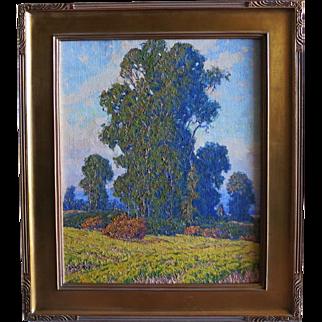 "Gary Ray titled ""Mustard Field""  California Artist"