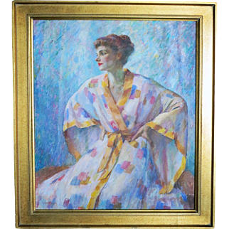 Geza Kende (1889 - 1952) California / Hungary Portrait of Lucille Ball
