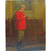 19th Century English painting of a English Gentleman