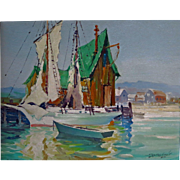 H.Emerson Lewis org. Oil on Canvas