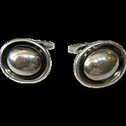 Georg Jensen Hans Hansen RARE sterling silver cufflinks #611 Denmark Scandinavian