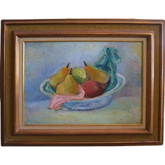 Maurice Sterne (1878-1957)  org Still Life ,Oil on Board