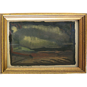 Rare original Rinaldo Cuneo  (1877 - 1939) Tonelist Painting