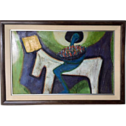 Original Barbara A. Wood painting