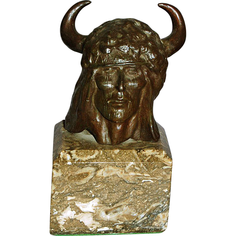 Kenneth A. Ottinger 1945 - Bronze Indian Head