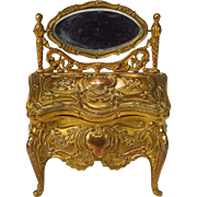 Miniature Dressing Table Jewelry Casket