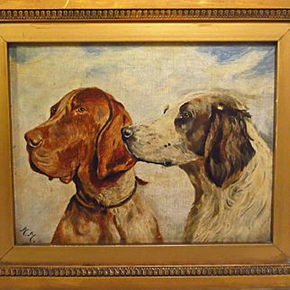 Hunting Dogs Portrait