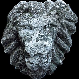 Lion Head Garden Ornament