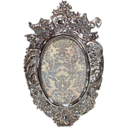 Antique Hanau Silver Picture Frame Wolf & Knell