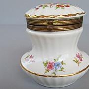 Vintage (Old) French Porcelain Trinket Box