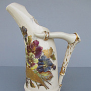 Antique Unger & Schilde (Austria) Pitcher - c. 1900