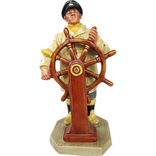 "Royal Doulton Figurine ""The Helmsman"", No. HN2499, 1973 Sea Character Series"