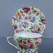 Vintage Royal Winton Chintz Cup and Saucer