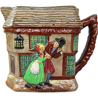"Vintage Royal Doulton Seriesware Pitcher ""Old Curiosity Shop"" dated 1949"