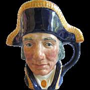 """Royal Doulton Character Jug - """"Lord Nelson"""" - No. D6336"""
