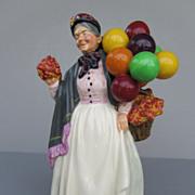 "Vintage Royal Doulton Figurine - ""Biddy Pennyfarthing"" - NO. HN1843"