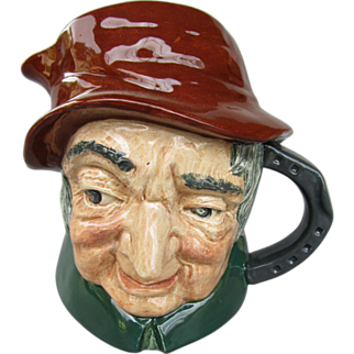 "Royal Doulton Character Jug ""Uncle Tom Cobbleigh"", No. D6337, 1952-1960"