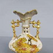 Antique Ernst Wahliss Wien Teplitz Porcelain Amphora or Vase - c. 1900