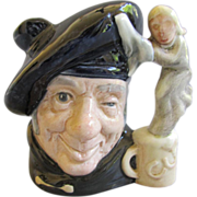 "Vintage Royal Doulton Character Jug - Small - ""Tam O'Shanter"" - No. D6636"