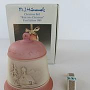Hummel Christmas Bell Ornament - No. 775 - 1989