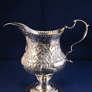 Antique English Sterling Silver Creamer - London 1779