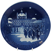 "1990 Bing and Grondahl Christmas Plate ""The Changing of the Guards"" B&G Denmark"