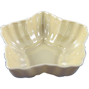 Irish Belleek Open Salt Cellar 5th Green Mark c. 1955-65