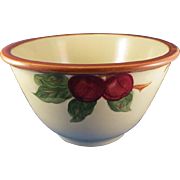 Franciscan Apple 8 ¾ in. Mixing Bowl U.S.A.