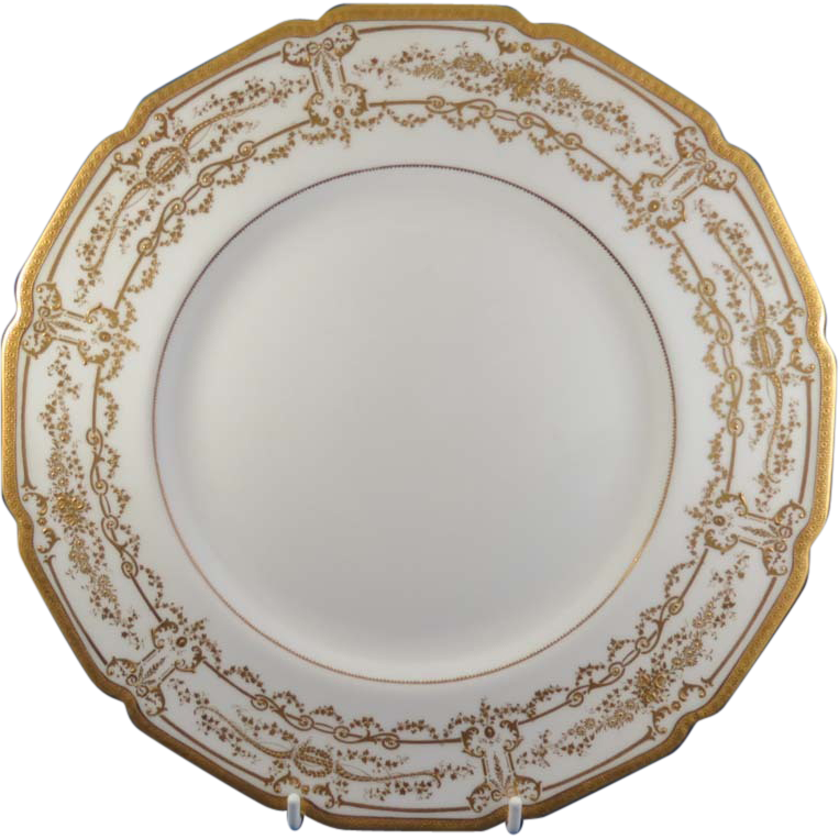 Gorgeous Royal Doulton Gold Encrusted Service Plate