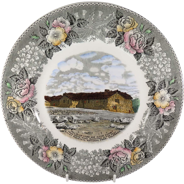 Fall River Store, Rocky Mountain National Park, Souvenir Plate