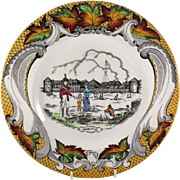 Old Fort Garby, Winnipeg, Canada Souvenir Plate