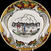 Old Fort Garby, Winnipeg, Canada Souvenir Plate
