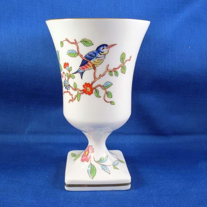 Aynsley Finest English Bone China Vase, Pembroke Pattern