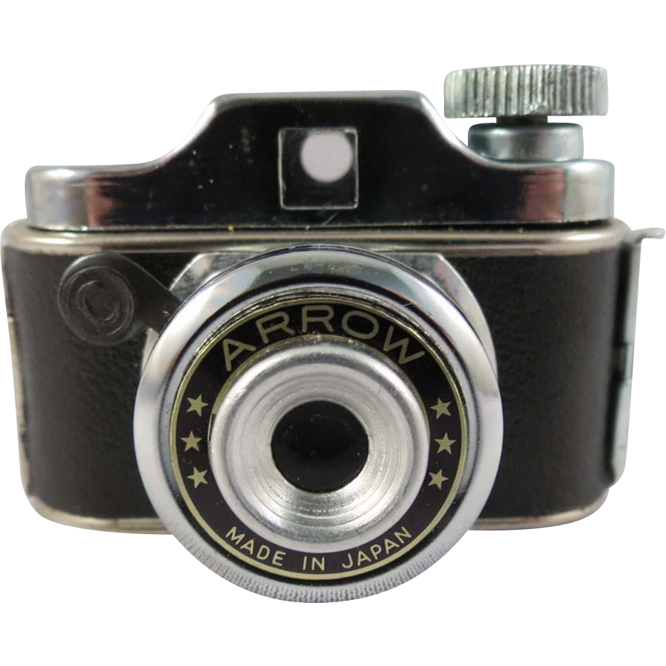 Vintage Arrow Miniature Spy Camera