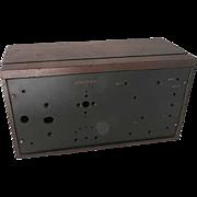 Crosley 2 Tube Regenerative Receiver Radio Model  51 Cabinet/ Parts