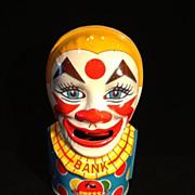 Mechanical Clown Bank-Round Trap