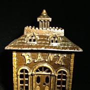 Bank Bank- Cast Iron Penny Bank