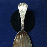 Rand and Crane Sterling Tea Caddy Spoon