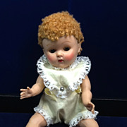 Vintage 1952 Caracul (Poodle) Wigged Vogue Ginny Doll
