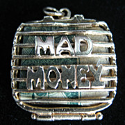Vintage 14K Mad Money Case Charm