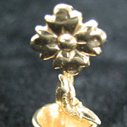Vintage 14K Potted Flower Charm