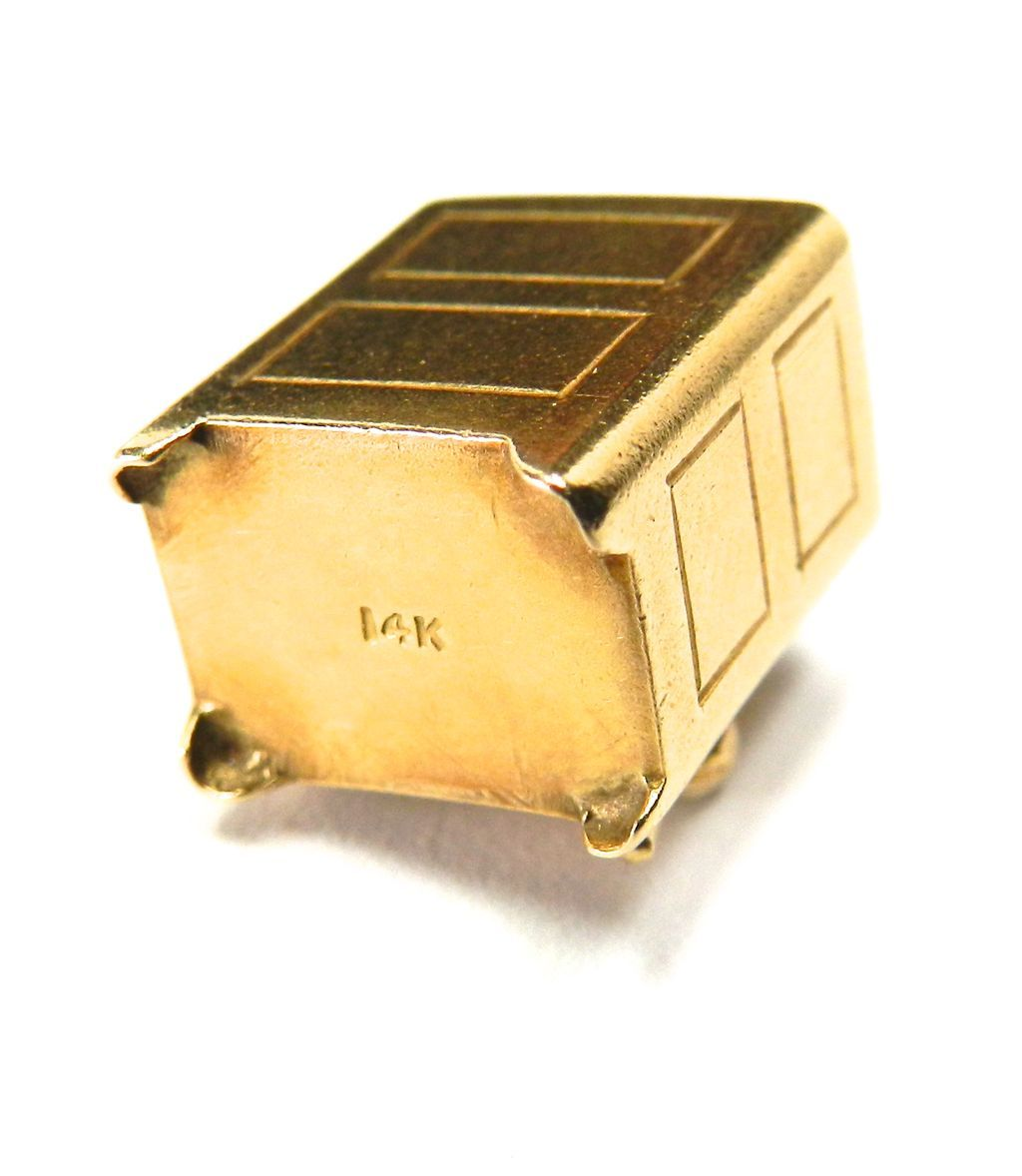 Vintage 14k Mad Money Safe Moveable Charm From Larsons On