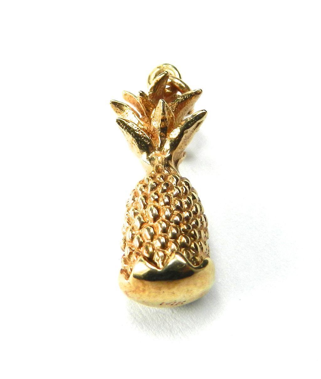 Vintage 14K Pineapple Charm