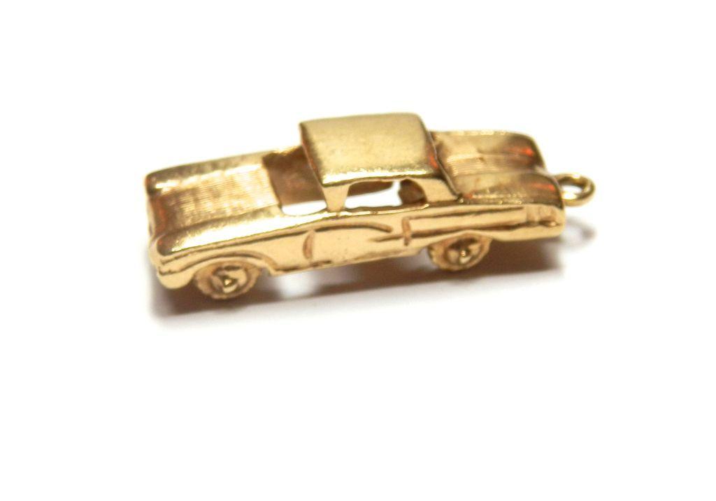 Vintage 14K Classic Car Charm