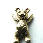 Vintage 14K Teddy Bear-Moveable