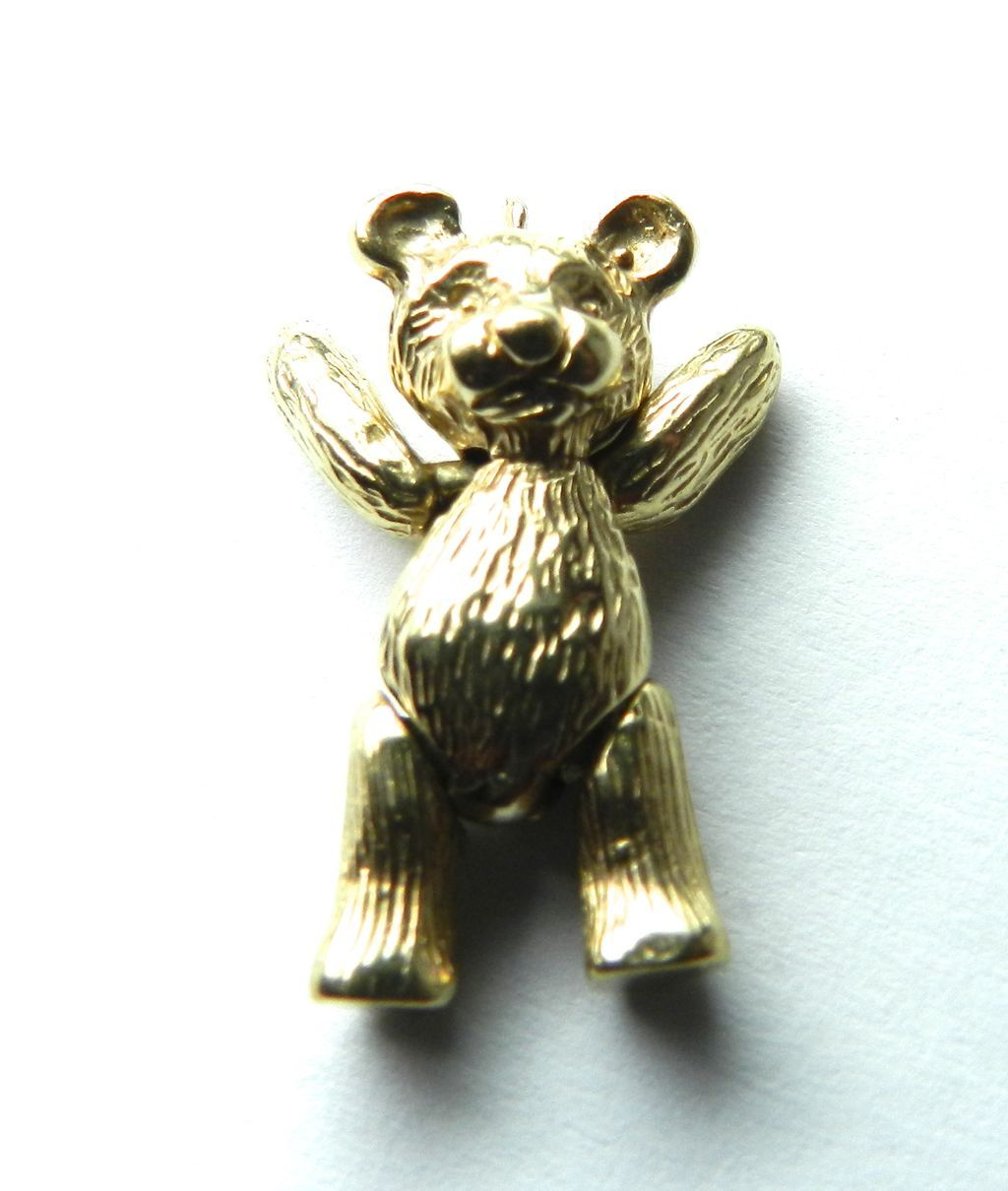 Vintage 14K Teddy Bear-Moveable