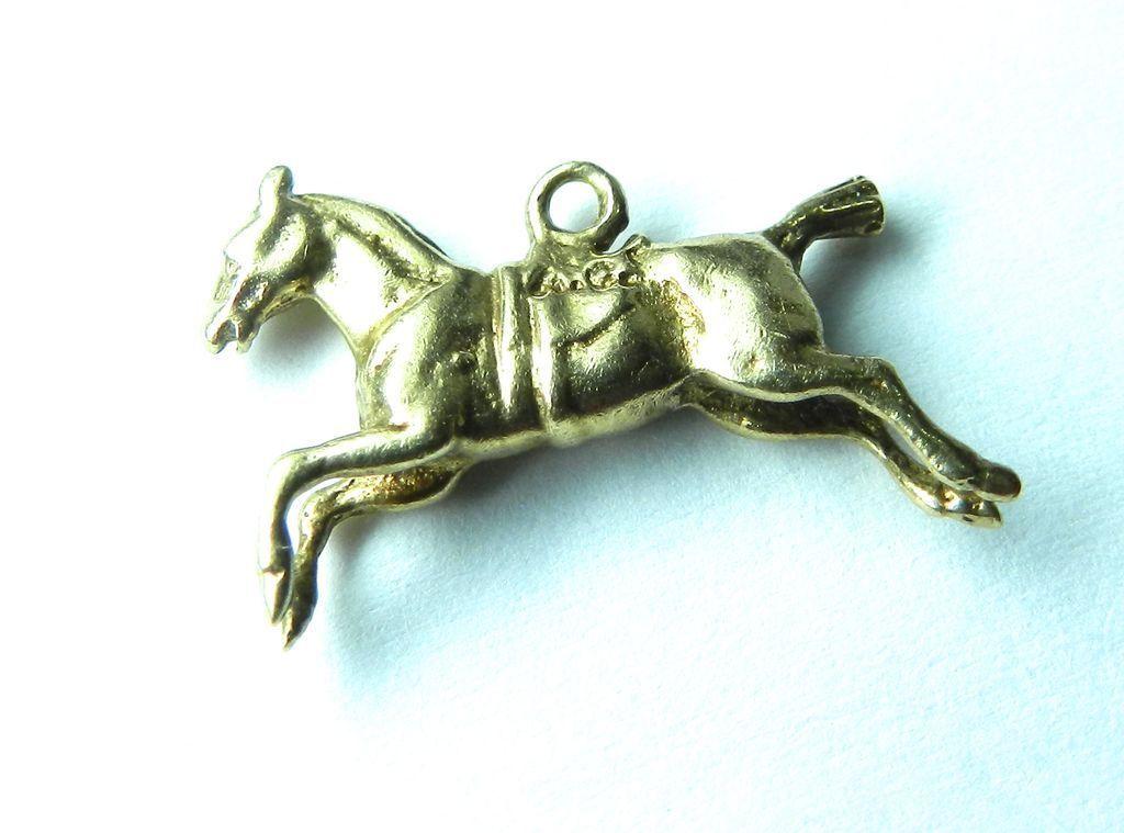 Vintage 14K Horse Charm
