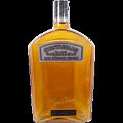 Large Gentleman Jack Glass Display Whiskey Bottle  Jack Daniels whiskey display bottle Barware Bar